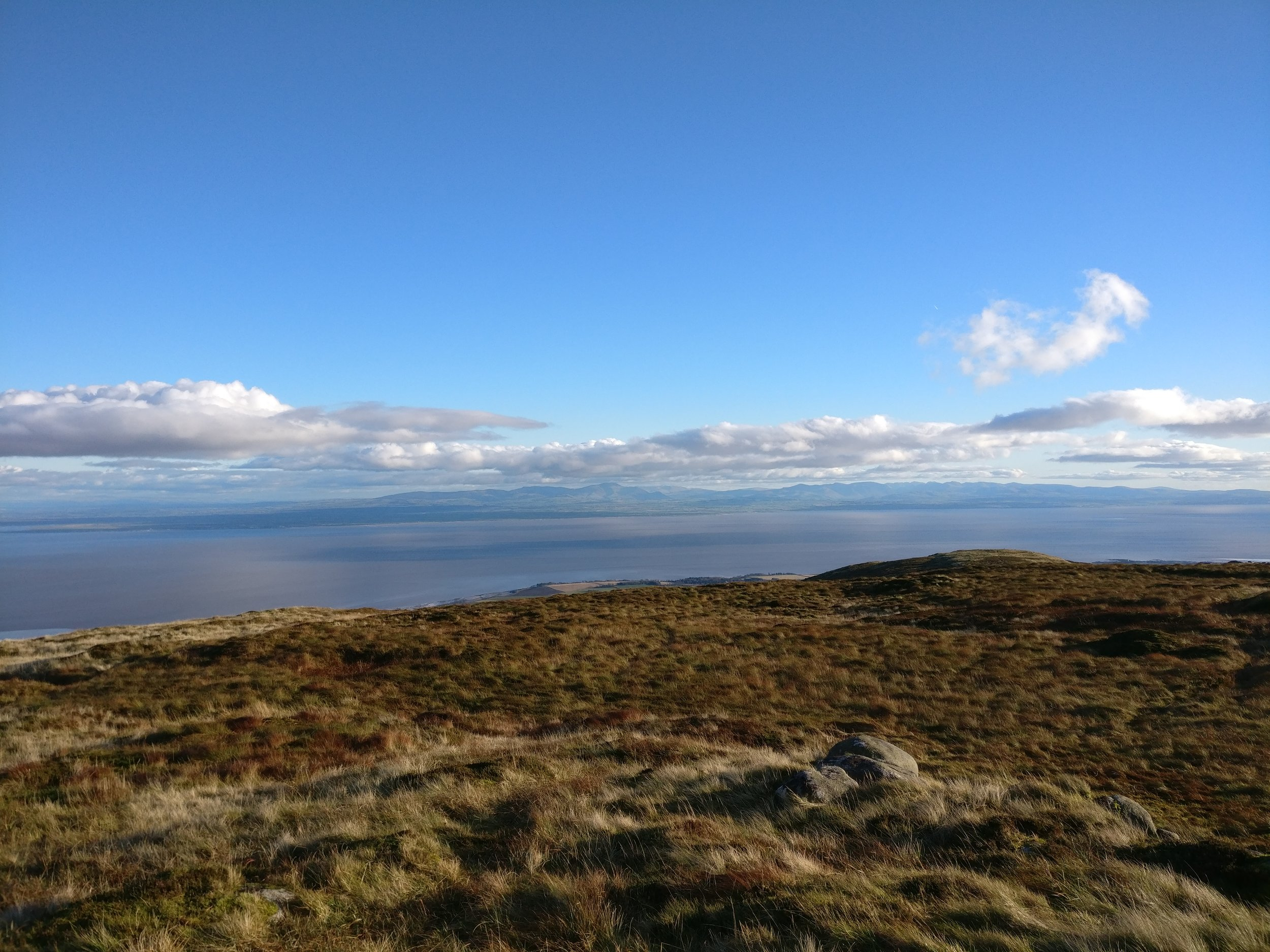 View from Criffle towards England's Lake District (by E.Loose)