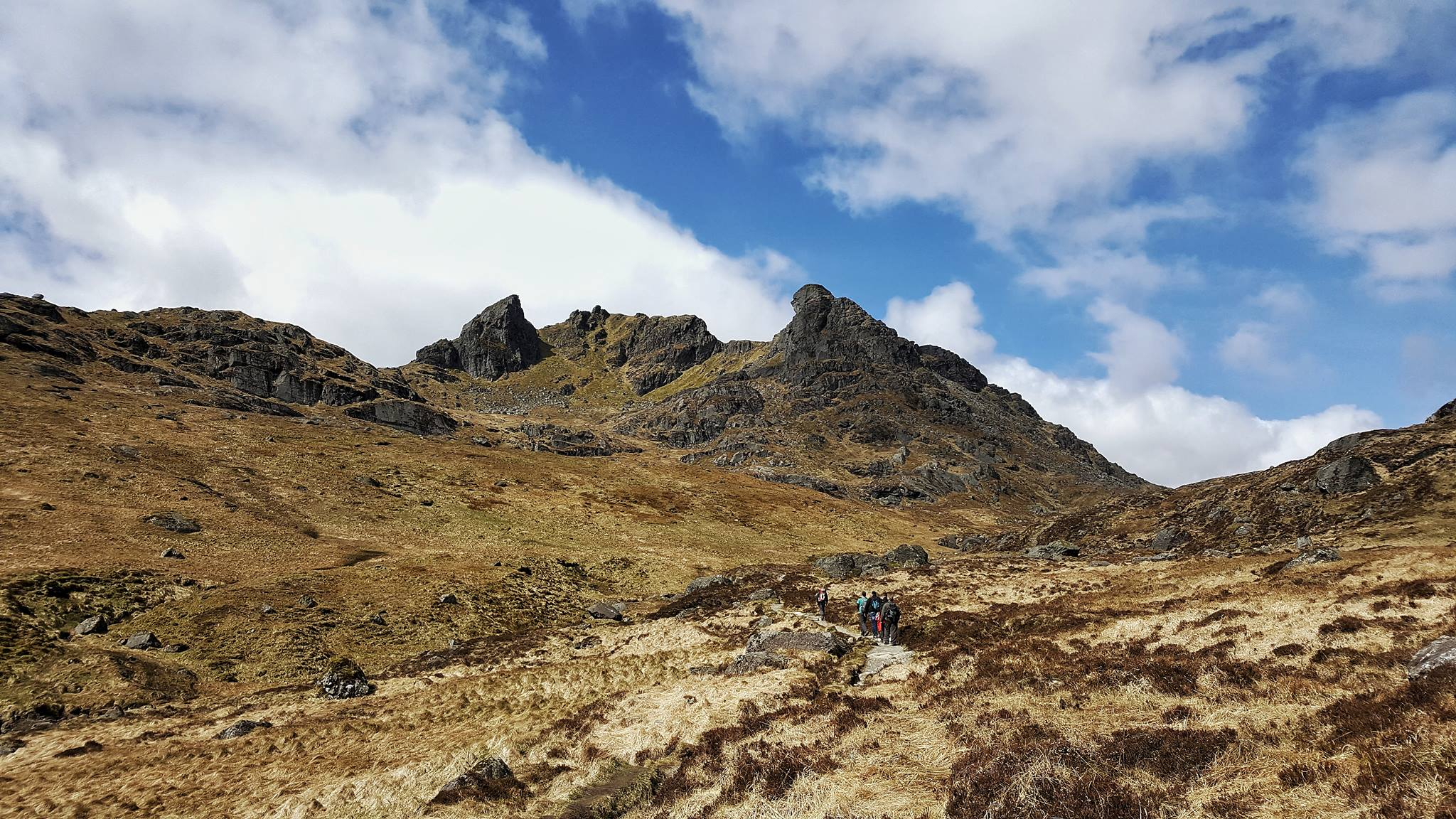 The Cobbler, one of Scotland's best known hills. Photo by Bianca Sala