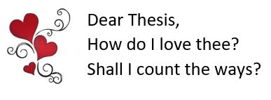 Thesis love thesis about love and death