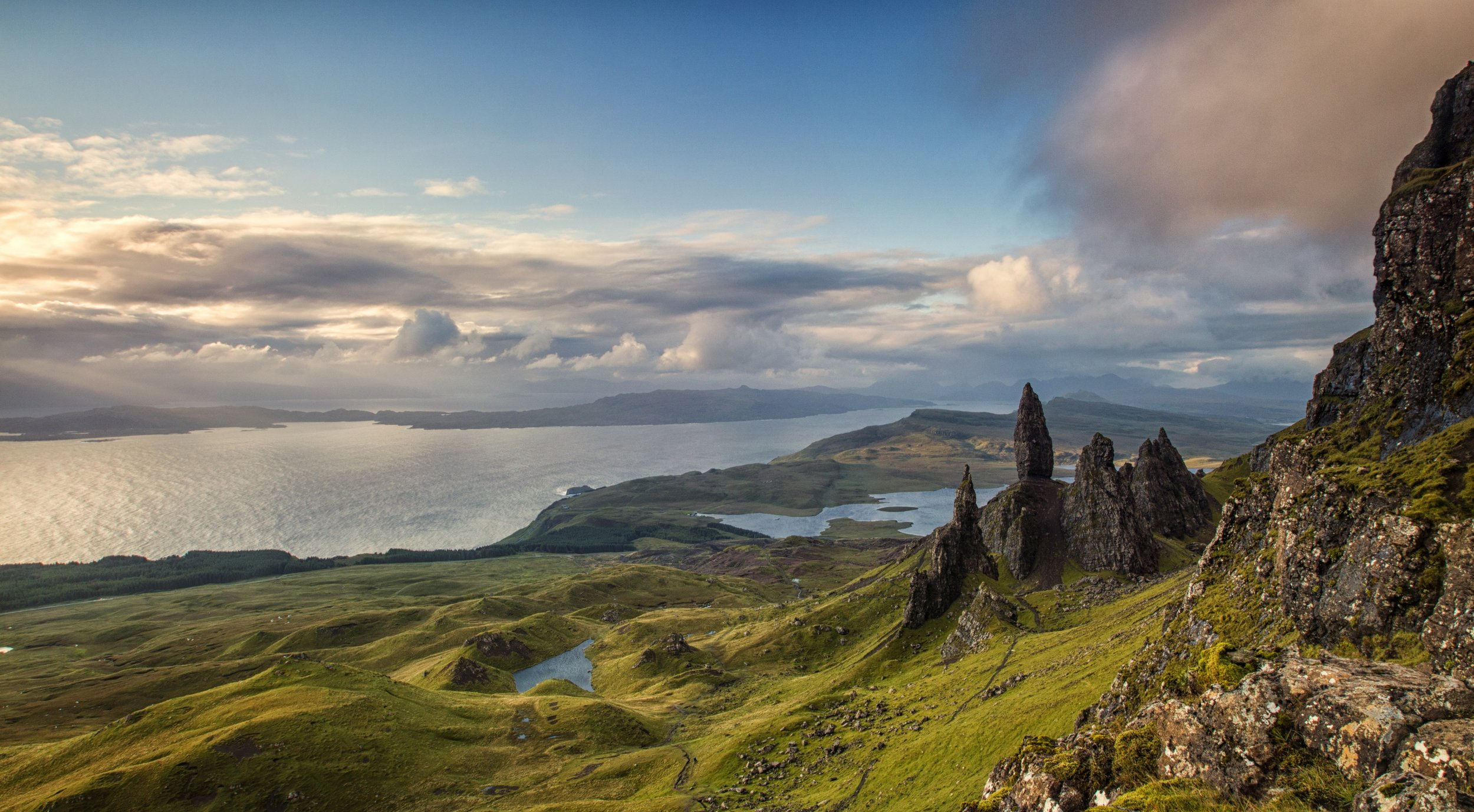 Skye has amazing hikes (for all levels of fitness) with breathtaking views.