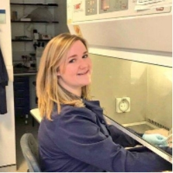 Stephanie Cumberworth - Steph is a final year PhD student, originally from Yorkshire. She is based at the Garscube Campus, working within the MRC University of Glasgow Centre for Virus Research. Her work involves studying how the Zika virus interacts with cells that make up the brain.