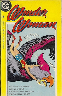 Early Wonder Woman comic book cover. Photo by  The Holding Coat  on  Flickr