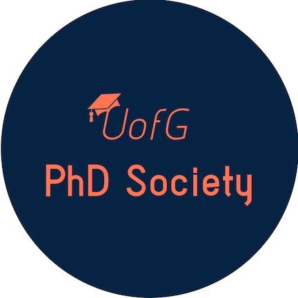 UofG PhD Society logo.