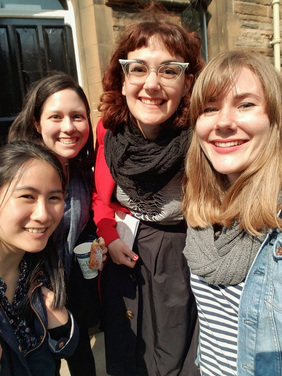 Goodbye from the 18/19 Blog Team!  From left to right: Ann Luk, Danielle Schwertner, Adriana Alcaraz, & Anna Henschel.