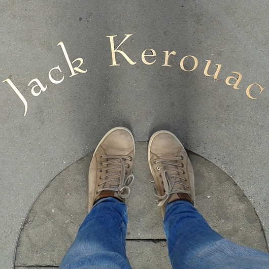A visit to Jack Kerouac Alley in San Francisco.