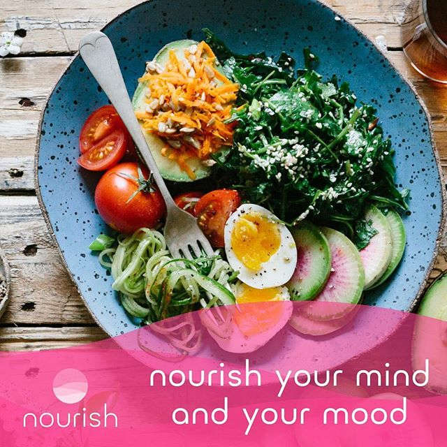 ✨NOURISH✨ . I've been busy working on the nutrition content for the Nourish app. It's been an such an honour to work alongside some incredible people to make this happen.  Good nutrition is not just about feeding the physical body; 🤸‍♀️we also need to eat well to nourish our mood and mental clarity✨🙏 . We need to eat regular life-giving meals if we want to think straight and make healthy choices. 🥑 . Give this 👆mantra a try to help you commit to healthy eating and good nutrition, and take care of your mental health. 🙏 . @thenourishapp have got a wonderful event planned on Wed 1st May for World Maternal Mental health Day 💗- with lots of scrummy nutritious juices & canapes to try, made onsite by clinical nutritionist (not me). . 🍎Come hang out with the nourish team and join in for a fabulous evening of nourishment. . 💗Check out the website (link in bio) for link to buy tickets. 👆 . The nourish app is packed full of self-care tips and tools to nourish your mind including loads of nutrition tips🥕🍎🥝 from yours truly.  Swipe👉 . There's nutirtion for sleep, for calm, for energy, for post-natal recovery. 🙏🤸‍♀️🙏 . Have you checked out the app yet? Download now for iPhone. 1 month FREE trial. Follow: www.thenourishapp.com . Have you got a good mantra to keep your nutrition on track?🥝🍎🥕🥑 Let us know. . . . . #nourishapp #eattonourish #nutrition #wellbeingapp #selfcareapp #selfcareformums #techstartup #socialenterprise #nourishyourmind #maternalwellbeing #selfcarerevolution #maternalmentalhealth #motherhood #mumssupportingmums #womanpower