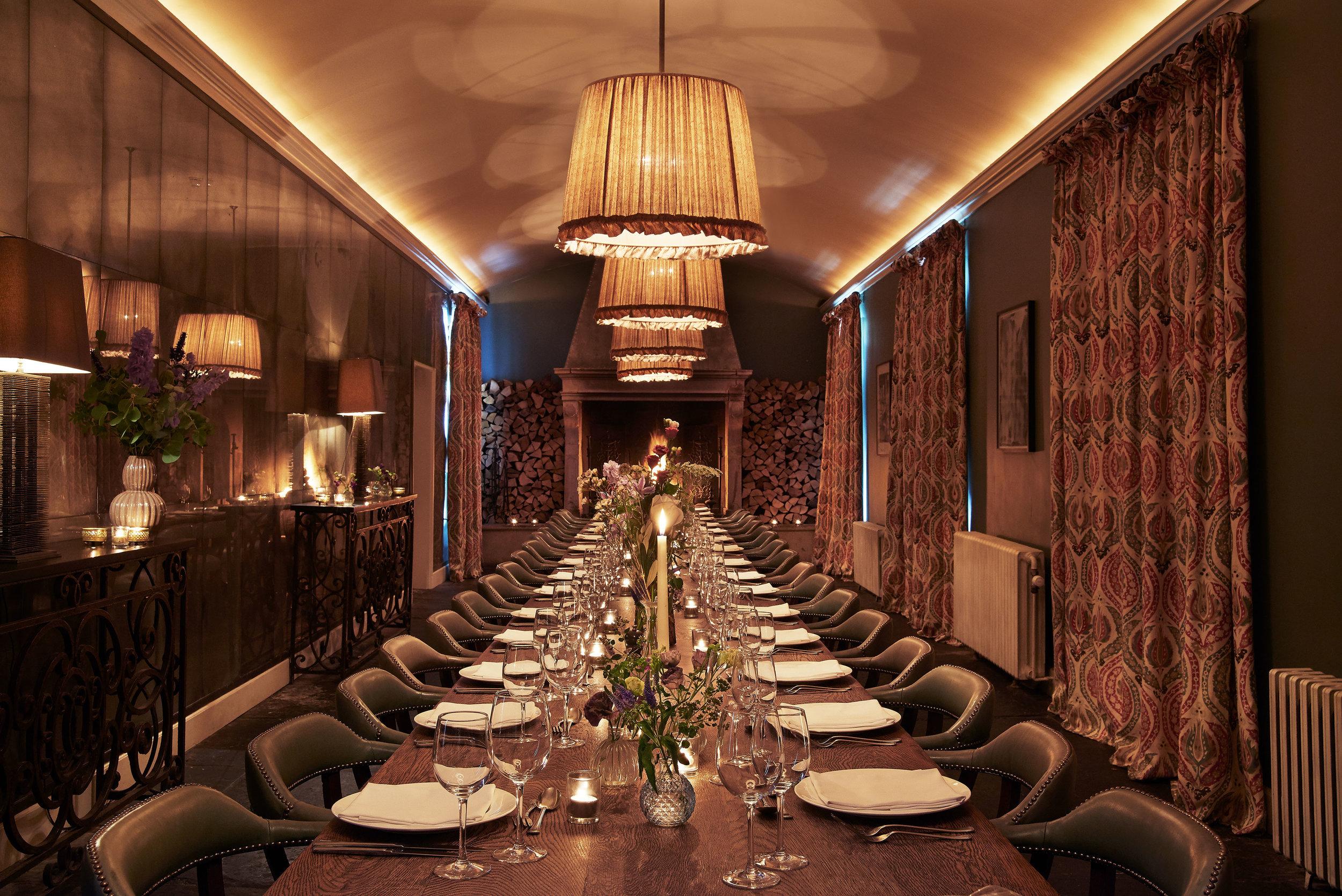 Log room dinner.jpg