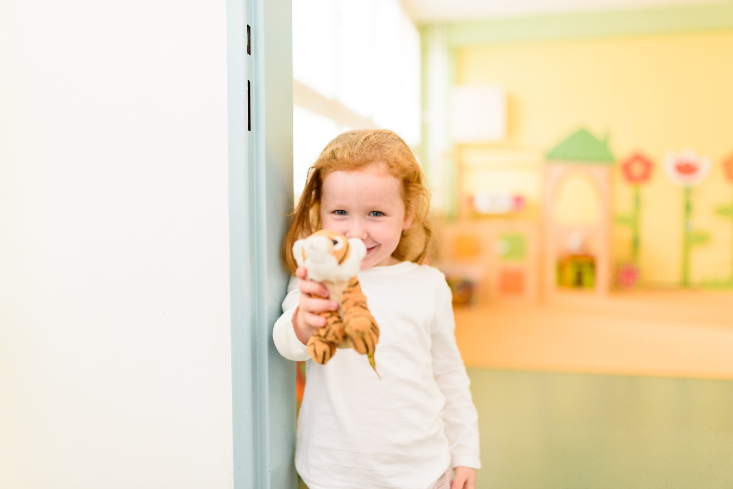 Daily routine - Many children, especially at the age of 5, 6 do not need afternoon sleep anymore. For these children rest areas are prepared, where they can have an afternoon rest, but nobody forces them to sleep.
