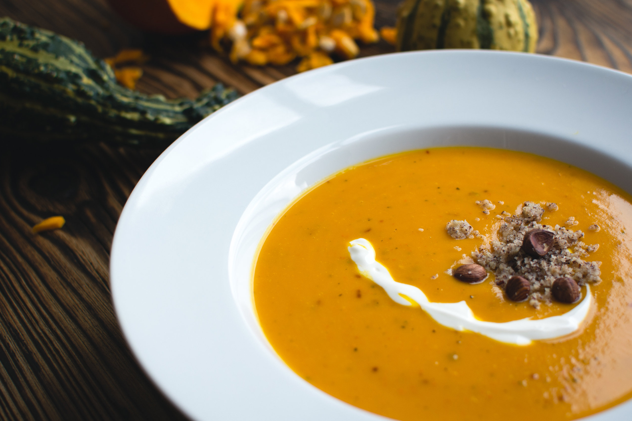 Creamy Hokkaido Soup -