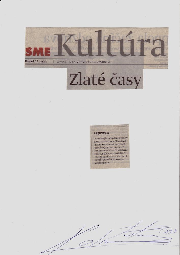 2009, Zlaté časy, koláž, 21x30 cm
