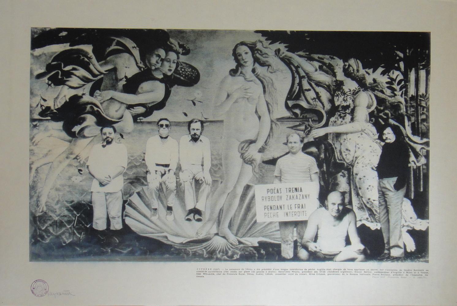 1978, Cythére, Argillia, tlač na plátne, 61,5x93 cm