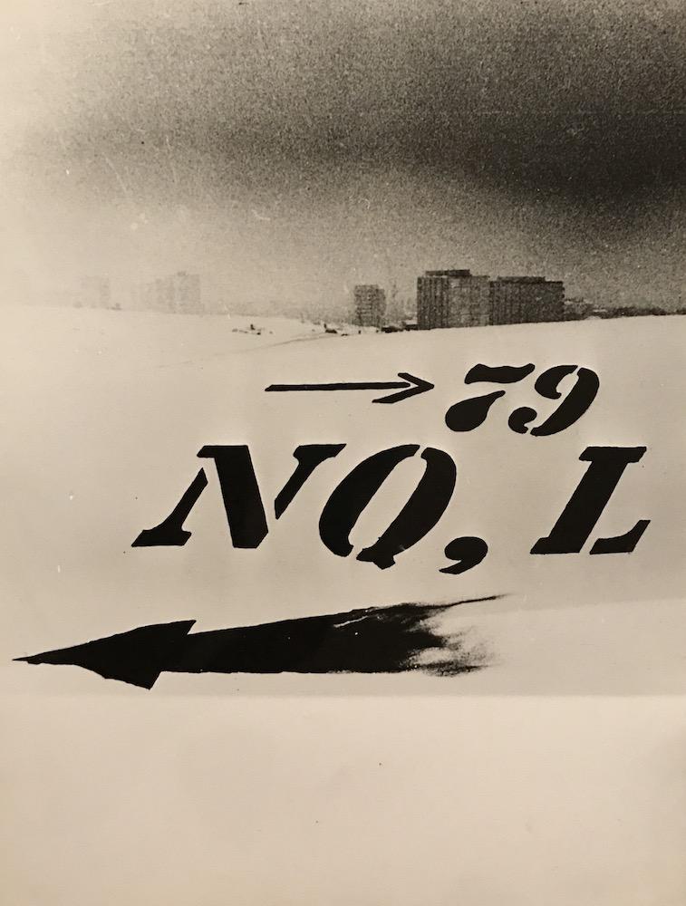 1970, Z mesta von III, fotografia, 40x30 cm