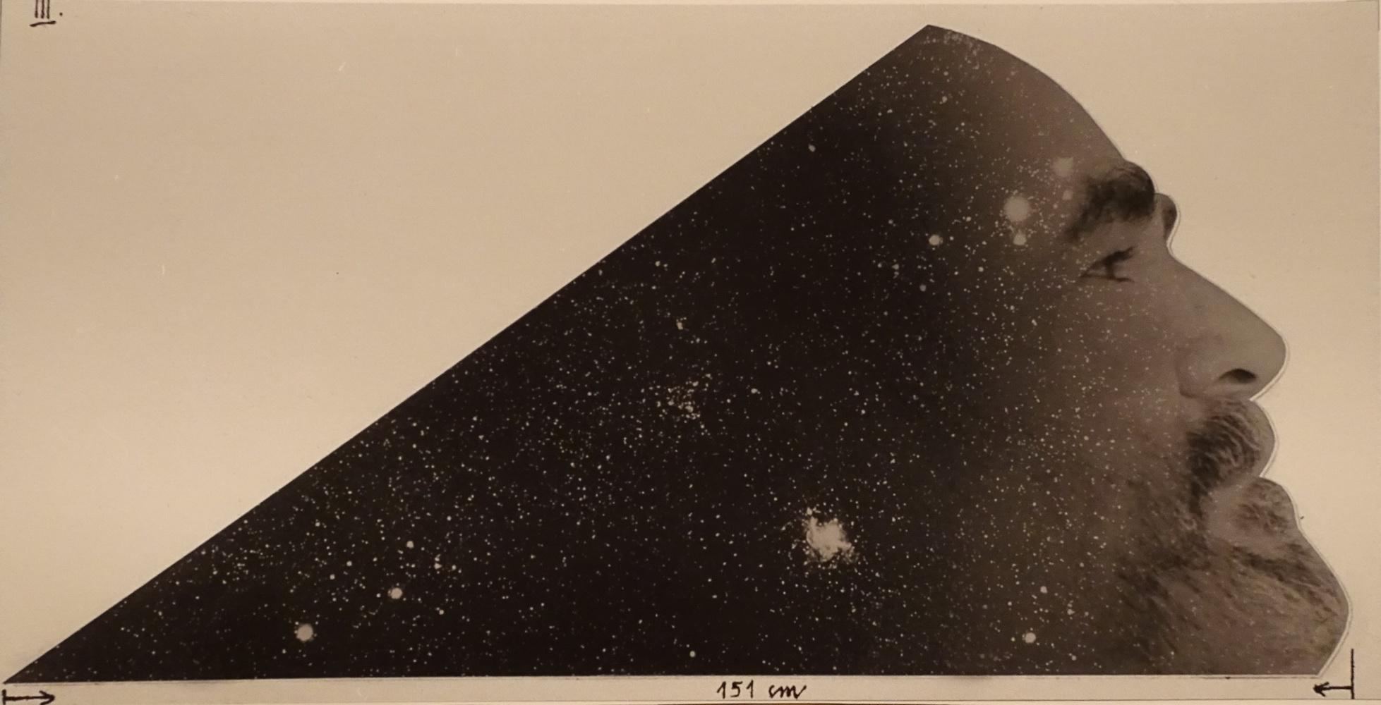 1995, Pozorovateľ 2, serigrafia, 22x44 cm