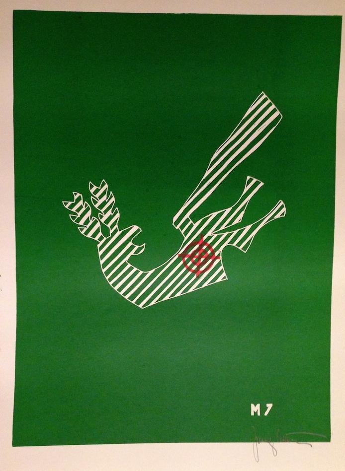 1972, Zasah I., drevoryt, 70x50 cm