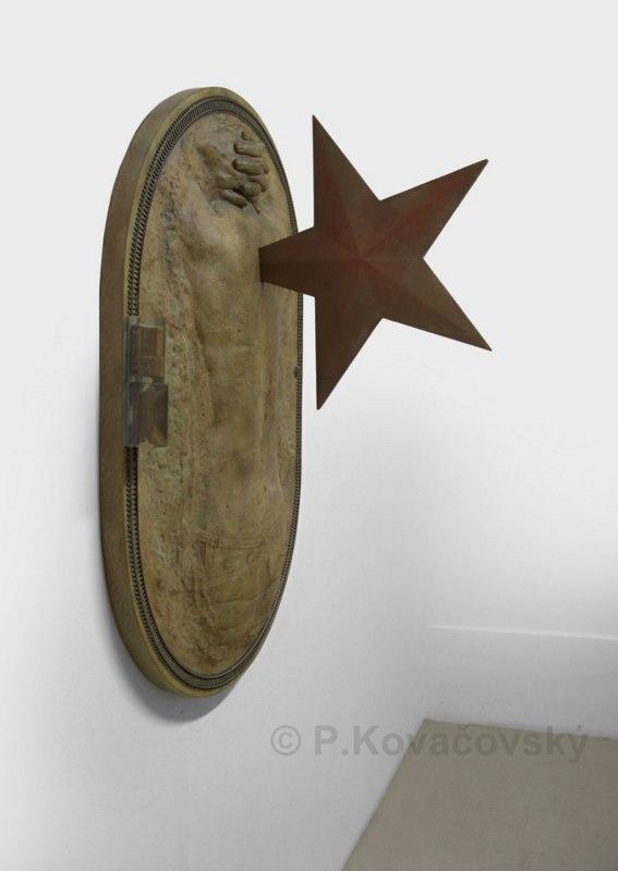 Niečo v nás ostalo, 2009, inštalácia, 150 x 110 x 67 cm