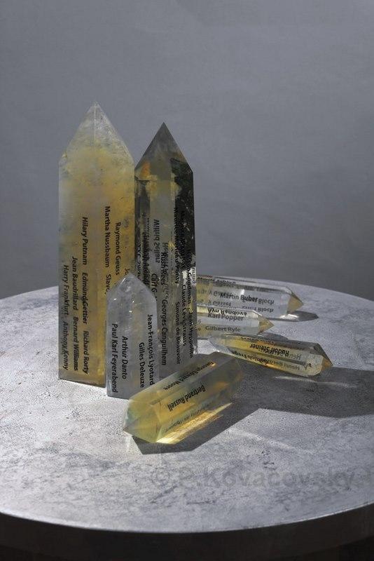 Krystalizacia myslenia 20 storocie, 2009, objekt