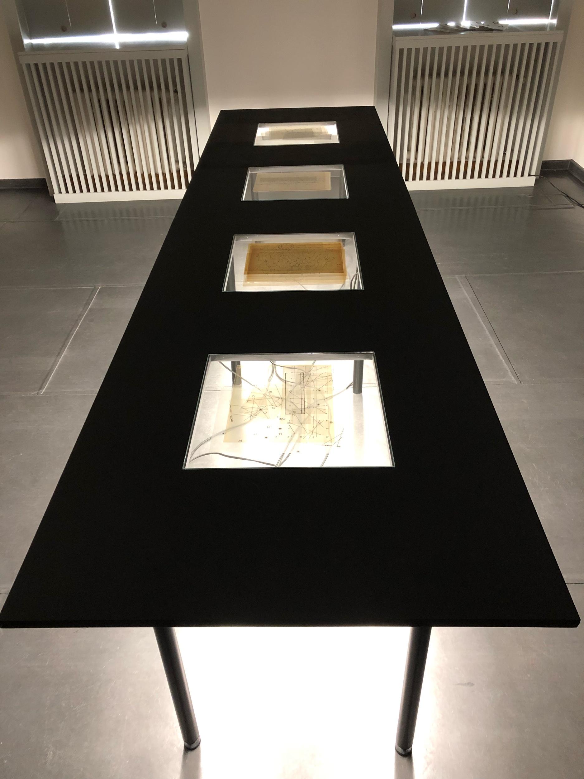 John Cage, foto z výstavy