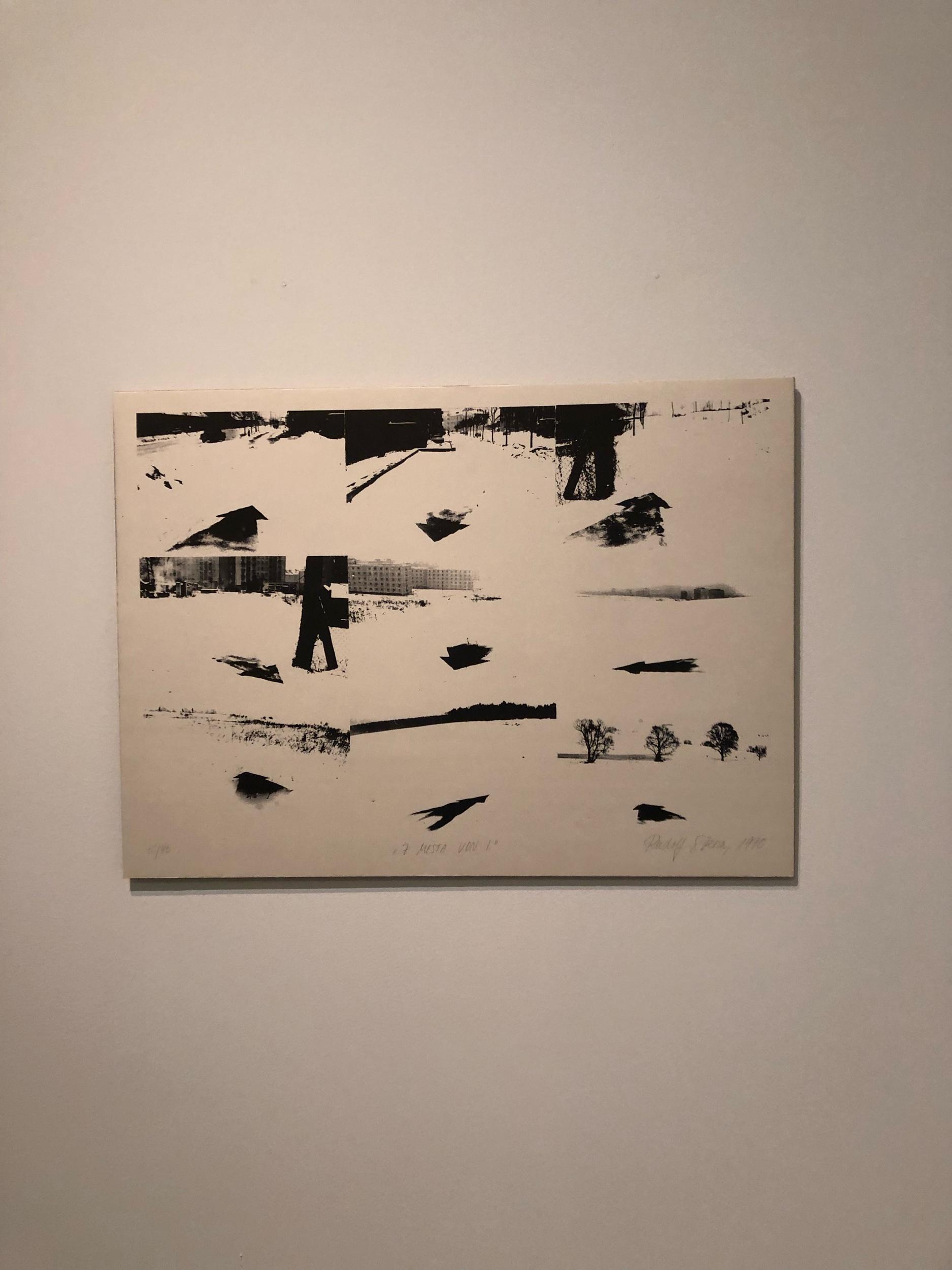 Rudolf Sikora, foto z výstavy