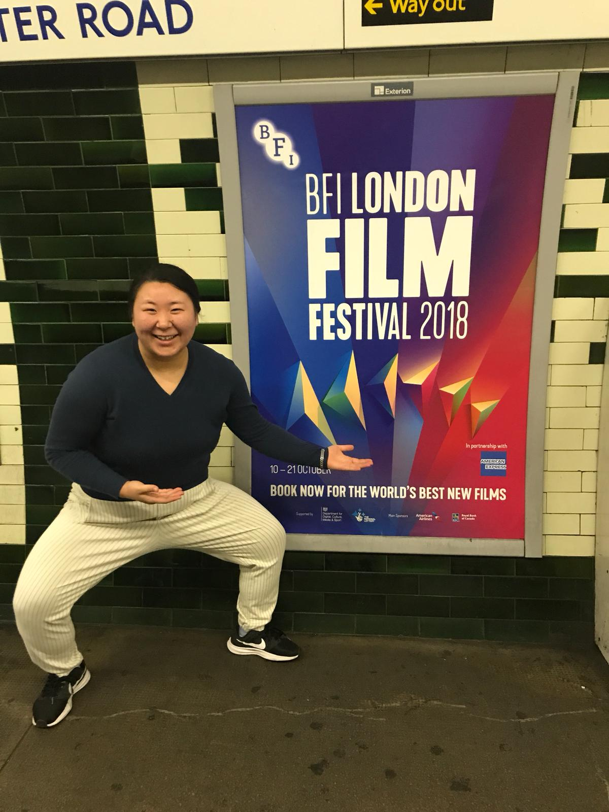 HIYORI OVER FOR THE WORLD PREMIERE AT LONDON FILM FESTIVAL 2018