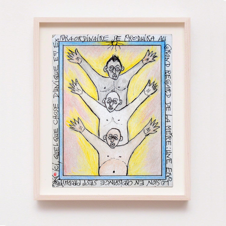 """""""Une explosion de croissance s'est produite"""" - 19 x 15 cm - 02.04.2008 - © Saguaro Gallery"""