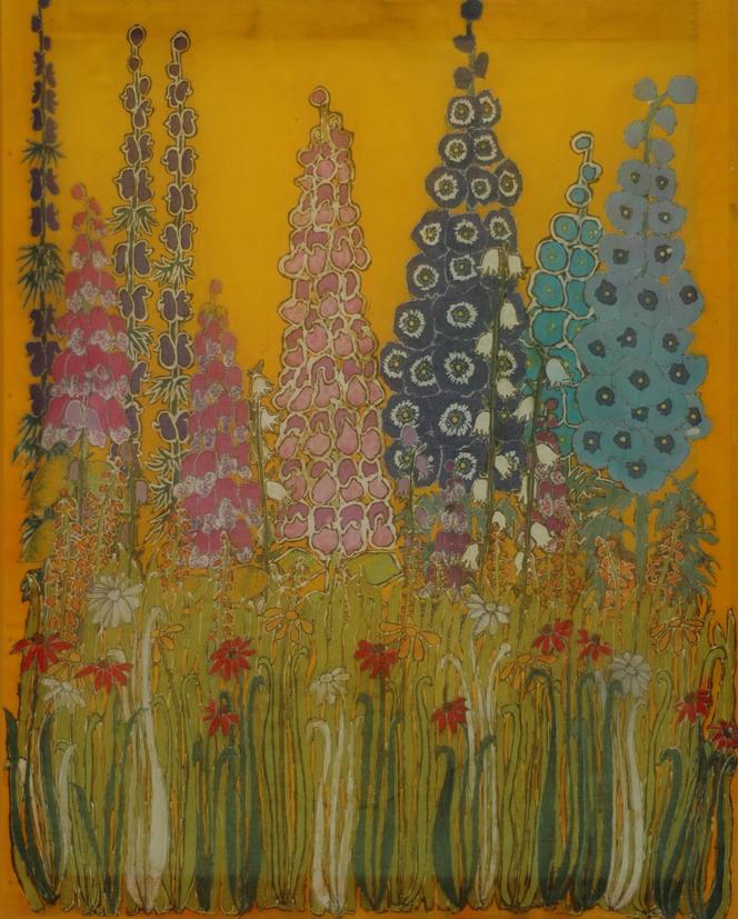 The Garden- Batik painting by Layla Tutt.jpg