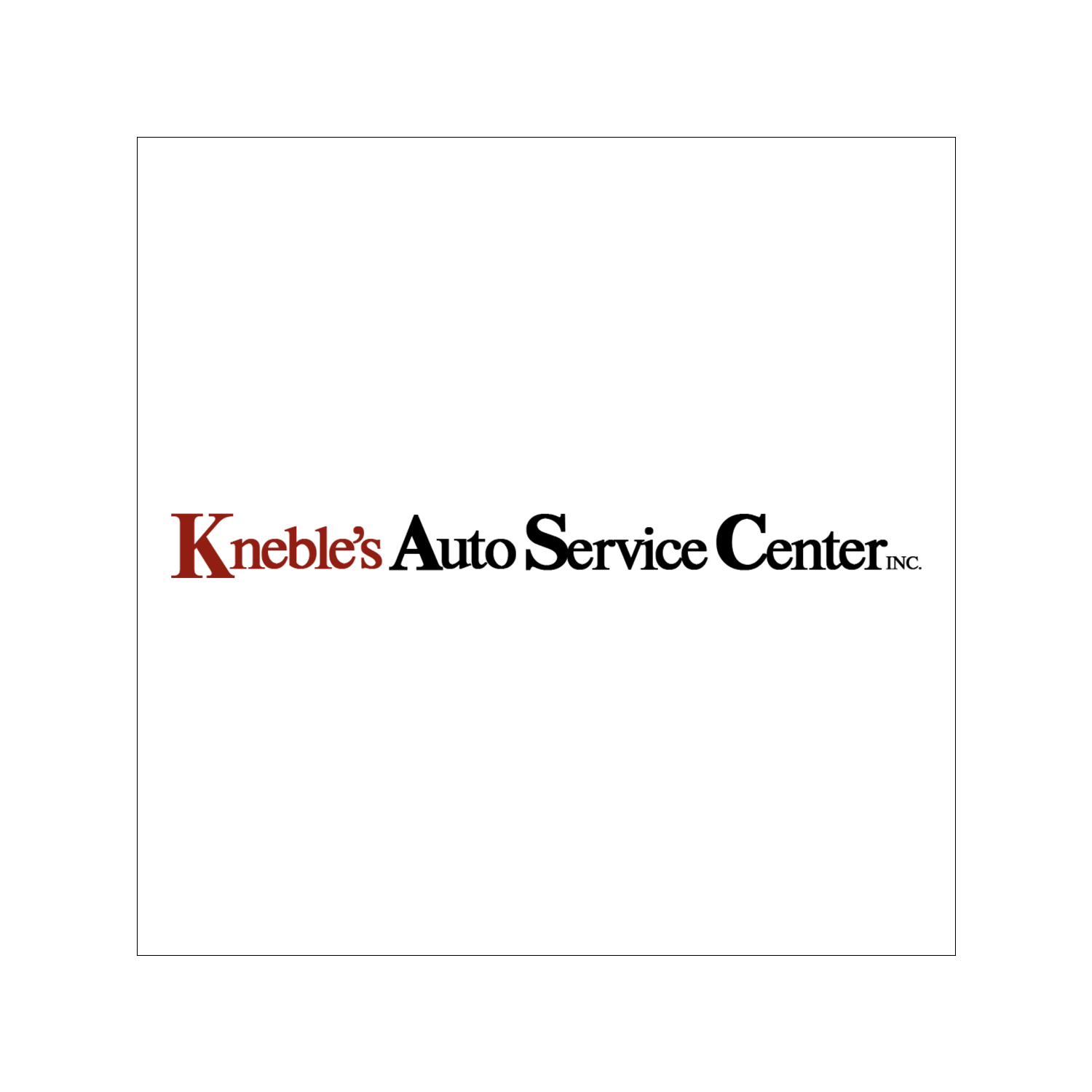 Kneble's Auto Service Center Inc.