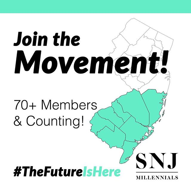 "Join the Movement! #PursueYourPotential with South Jersey's leading nonprofit for entrepreneurs! 💫 ::: SNJ Millennials is a bold and unique nonprofit comprised of young business professionals. We provide revolutionary workshops, networking mixers and business educational resources. We also have the mission of bringing generations together through our ""3 Ways of Partnership"" campaign. ::: www.snjmillennials.org • @snjmillennials ::: #SNJMillennials #TheFutureIsHere #PursueYourPotential #JoinToday ..."