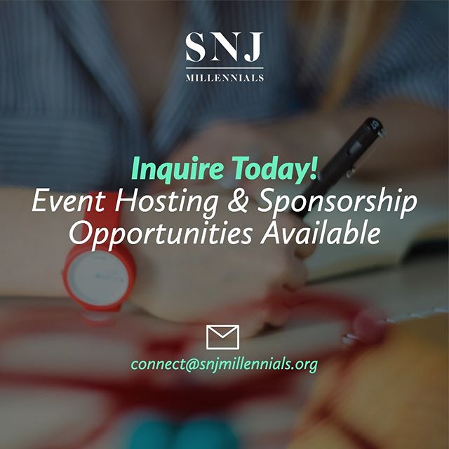 Inquire Today! At SNJ Millennials we host a workshop, panel and/ or networking event each month; catering to help young business professionals emerge into the business place! ::: www.snjmillennials.org • @snjmillennials ::: #SNJMillennials #TheFutureIsHere #PursueYourPotential #JoinToday ...