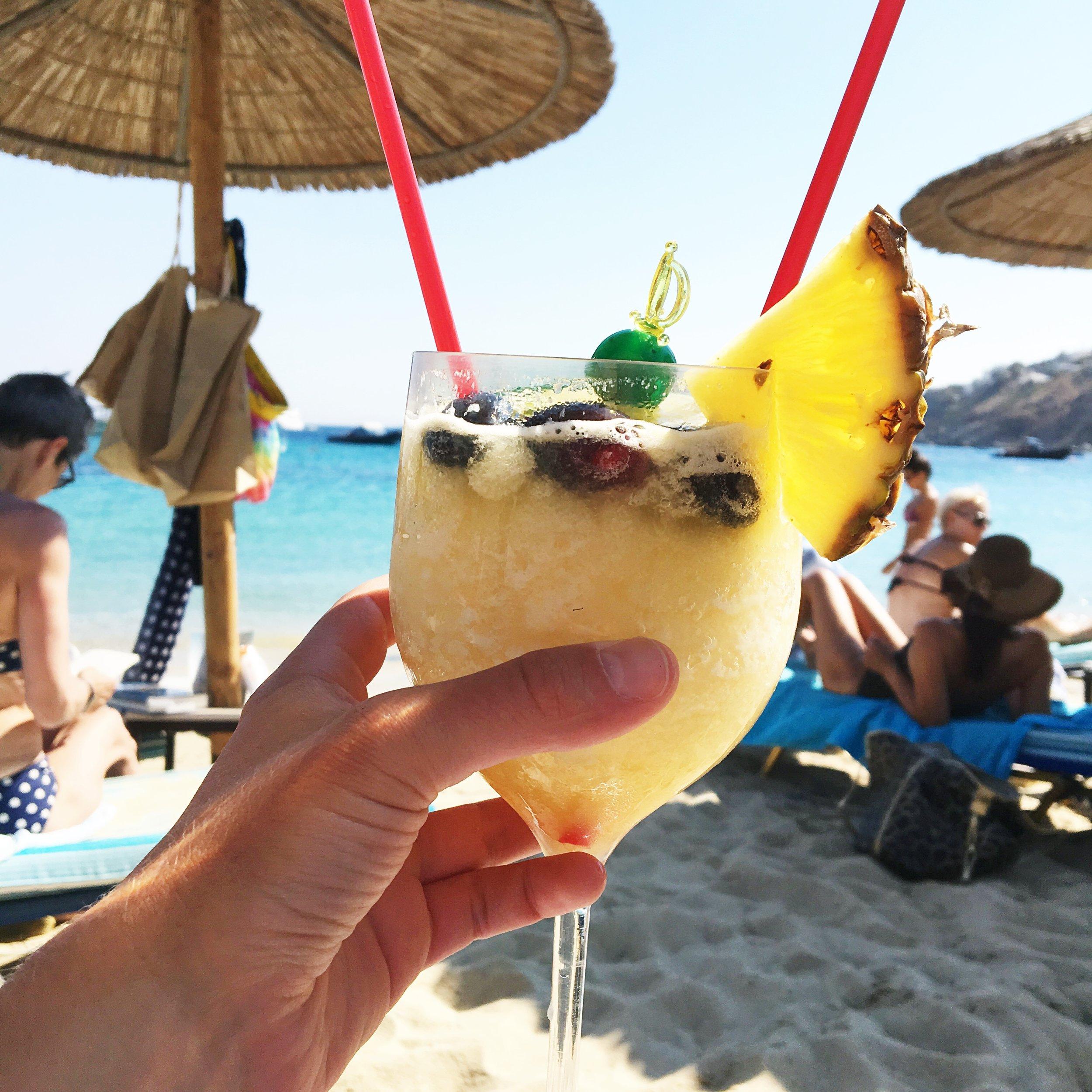 Beach Bar at Psarou