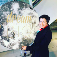 Laura Phillips tells us to dream big!