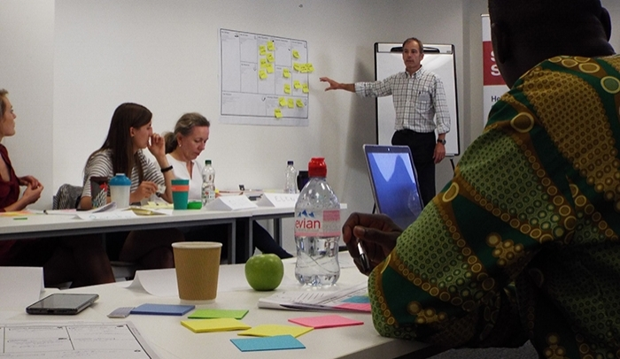 Phil Beale introduces the Business Model Canvas