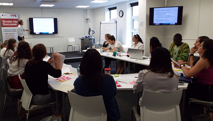 The workshop was hosted by the University of Bath Innovation Centre
