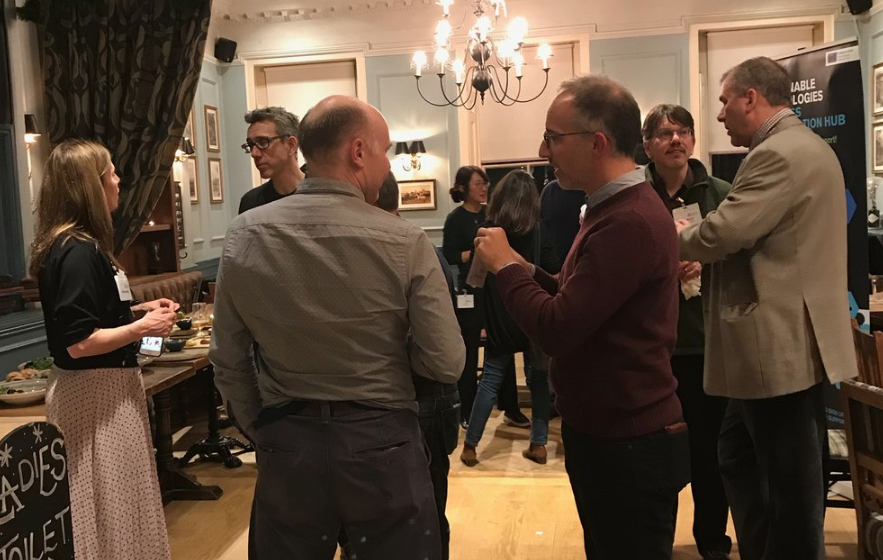 GUESTS MINGLE AND NETWORK AT THE STBAH EVENT