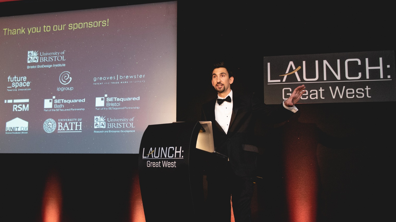 SETsquared Bath and the University of Bath were proud award sponsors of the Launch: Great West Awards 2019.
