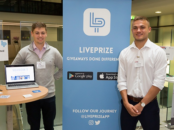 Liveprize - A free app that runs scheduled live giveaways with video hosted game show style formats, where all users compete in unison for a grand prize.