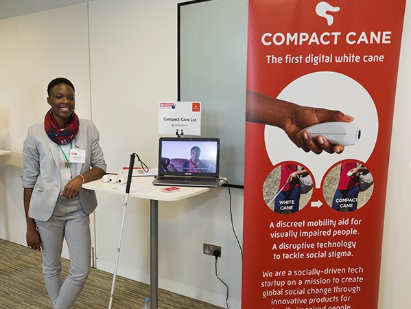 Compact Cane - The world's first digital white cane for people with visual impairments.