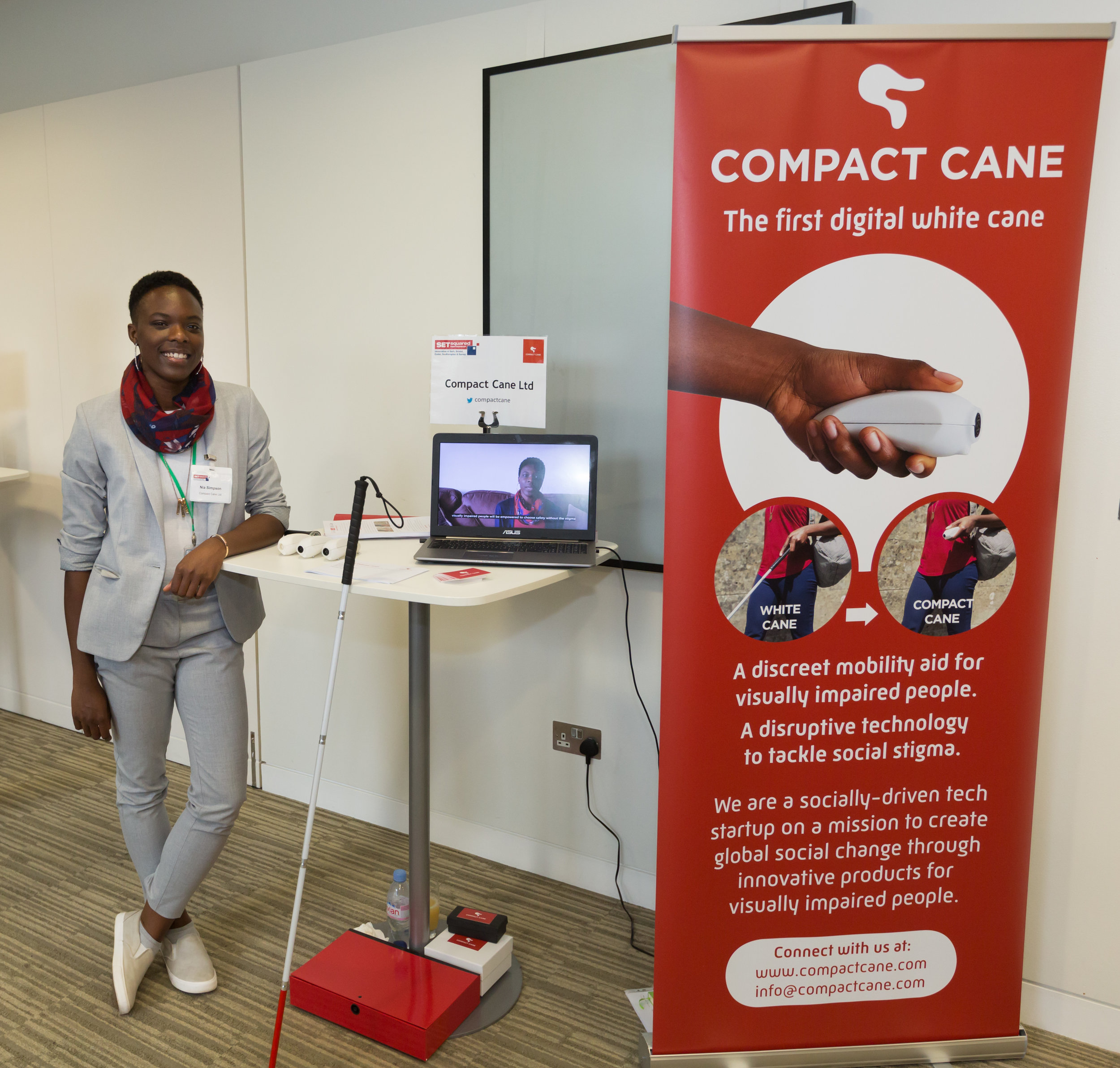 Nia Simpson, Founder of Compact Cane