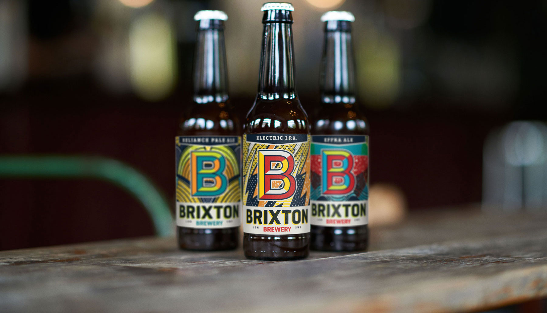 BRIXTON BREWERY - Making beer in the heart of one of London's most colourful and famous neighbourhoods.