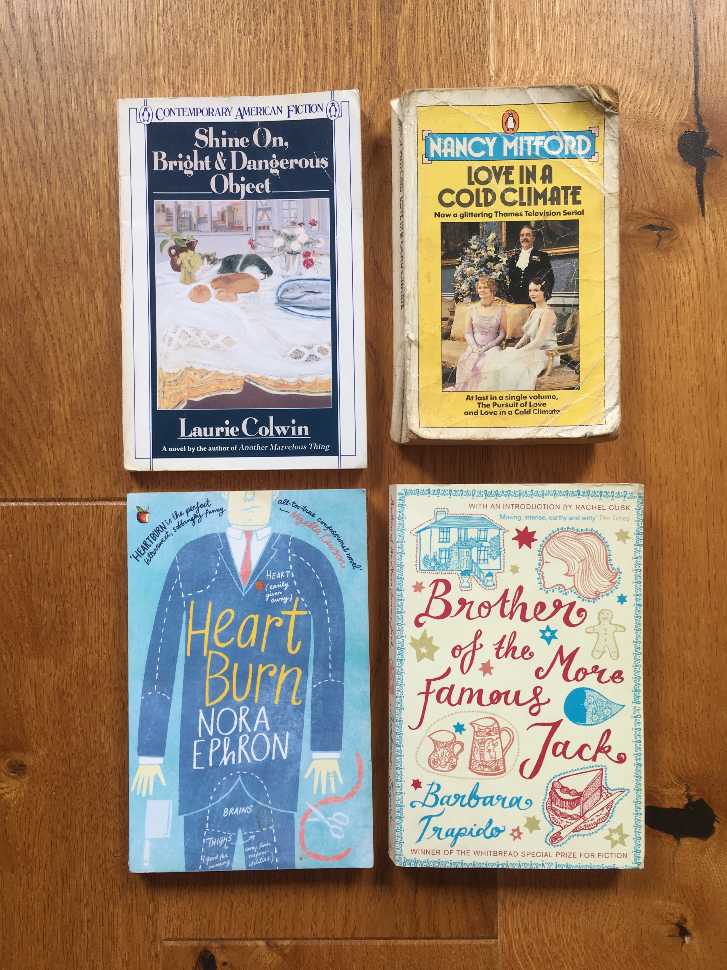 Some of Charlotte's favourite books