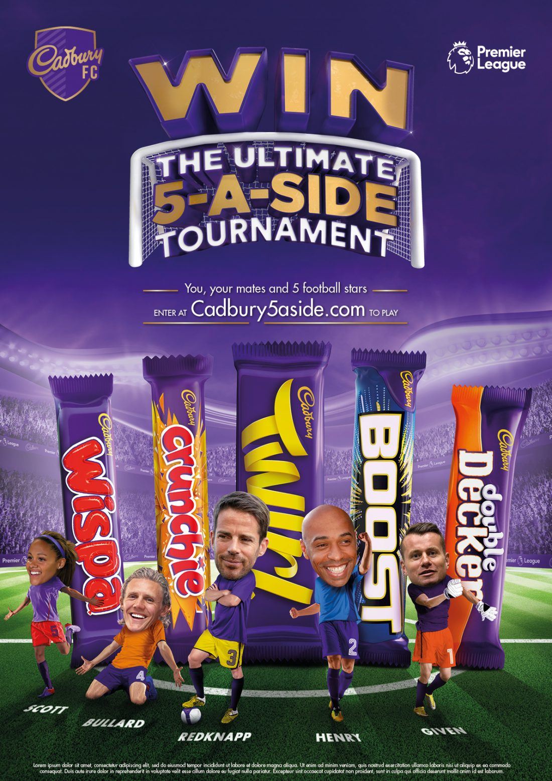 The Cadbury ad starring Alex Scott, who played for Arsenal before retiring earlier this year. She has 140 caps for England and is now a pundit for the BBC;