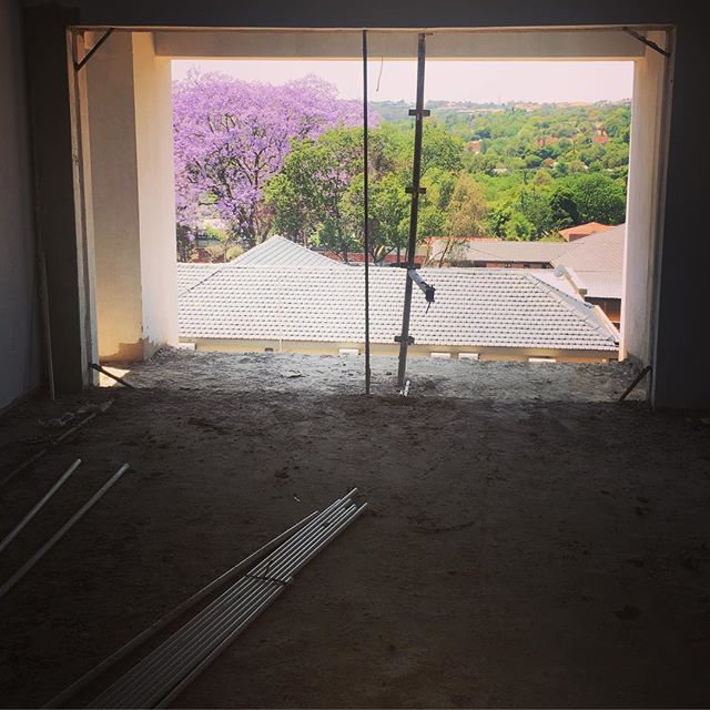 Nice view from new  #Rivonia #residential #development