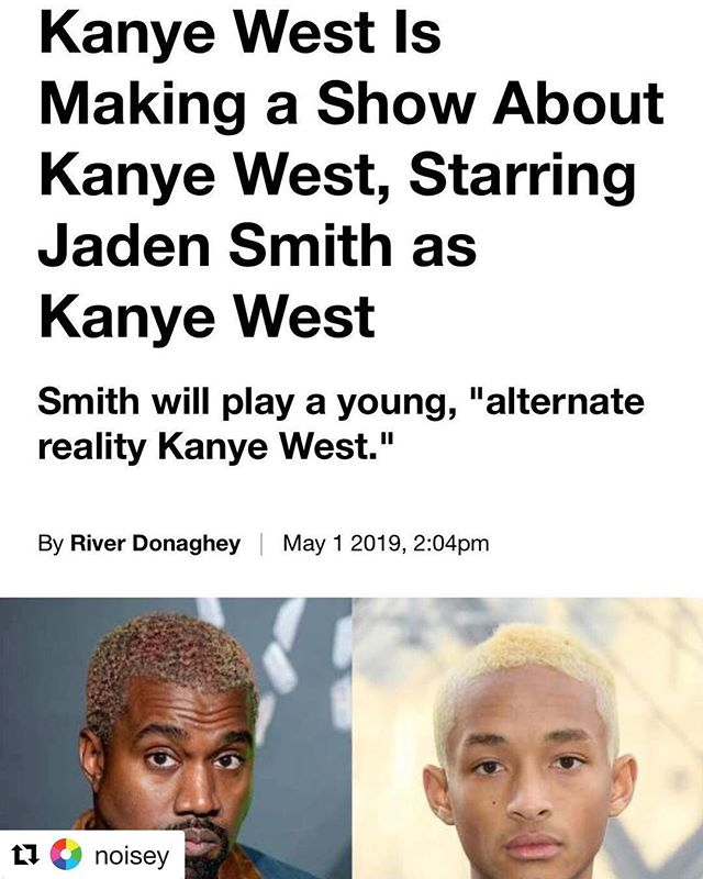 Forget about global warming, wars, poverty, polluted water, etc. WE ARE FU**ED! West + Kardashian and now with Smith... we are doomed. #Repost @noisey with @get_repost ・・・ Well, Kanye loves Kanye. Link in bio to read more.