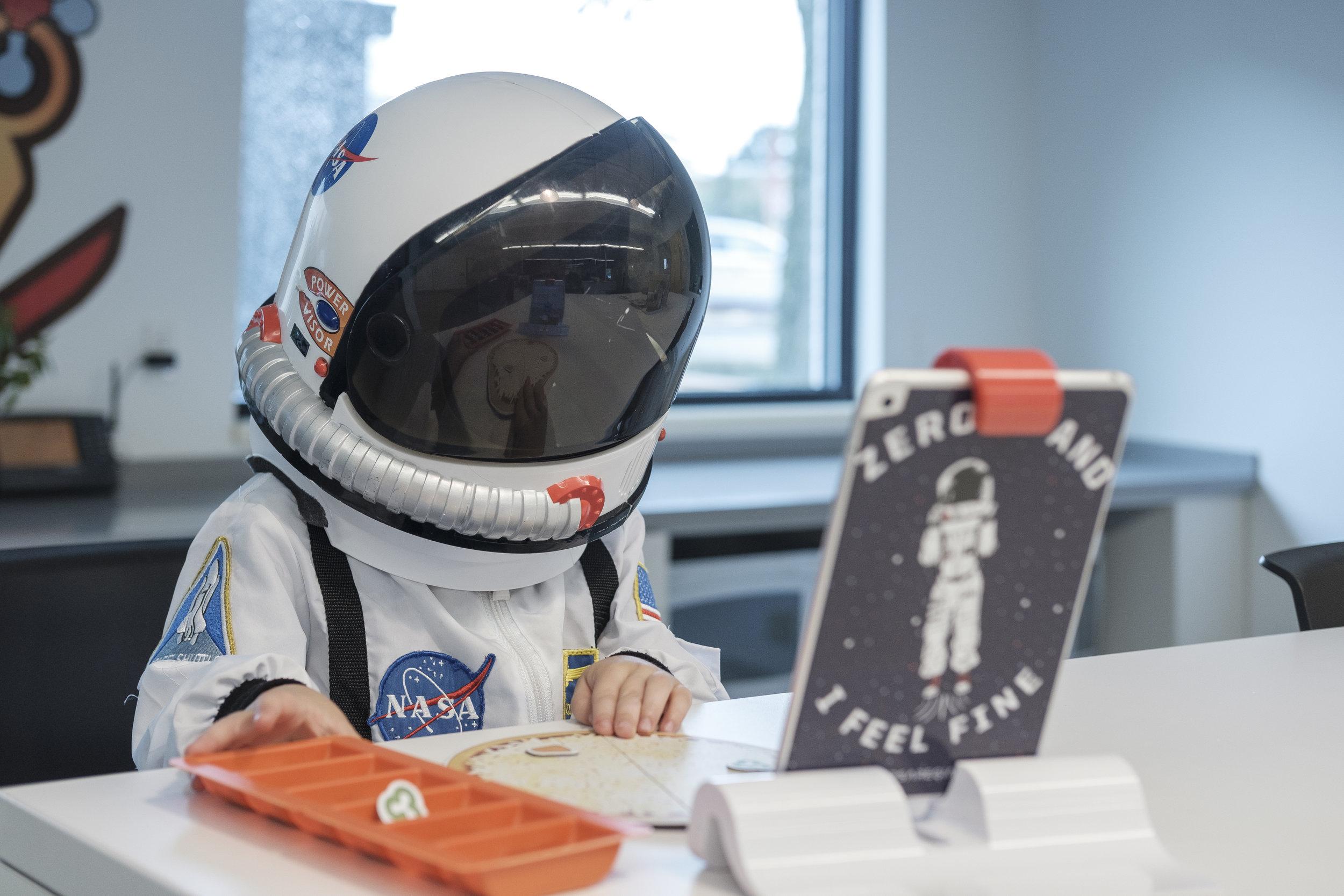 Astronaut Harrison -