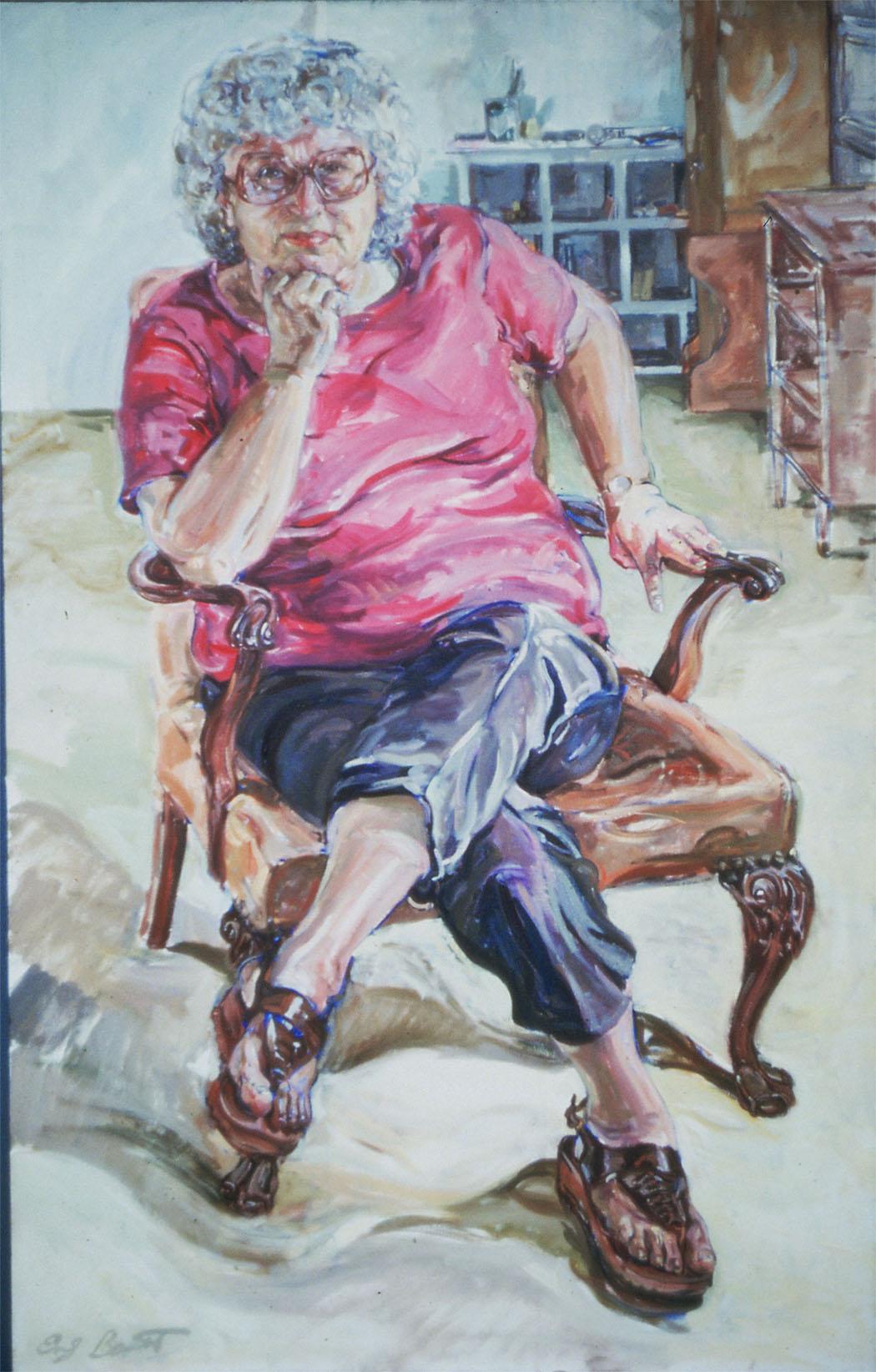 Irma Roberts, Oil on Canvas