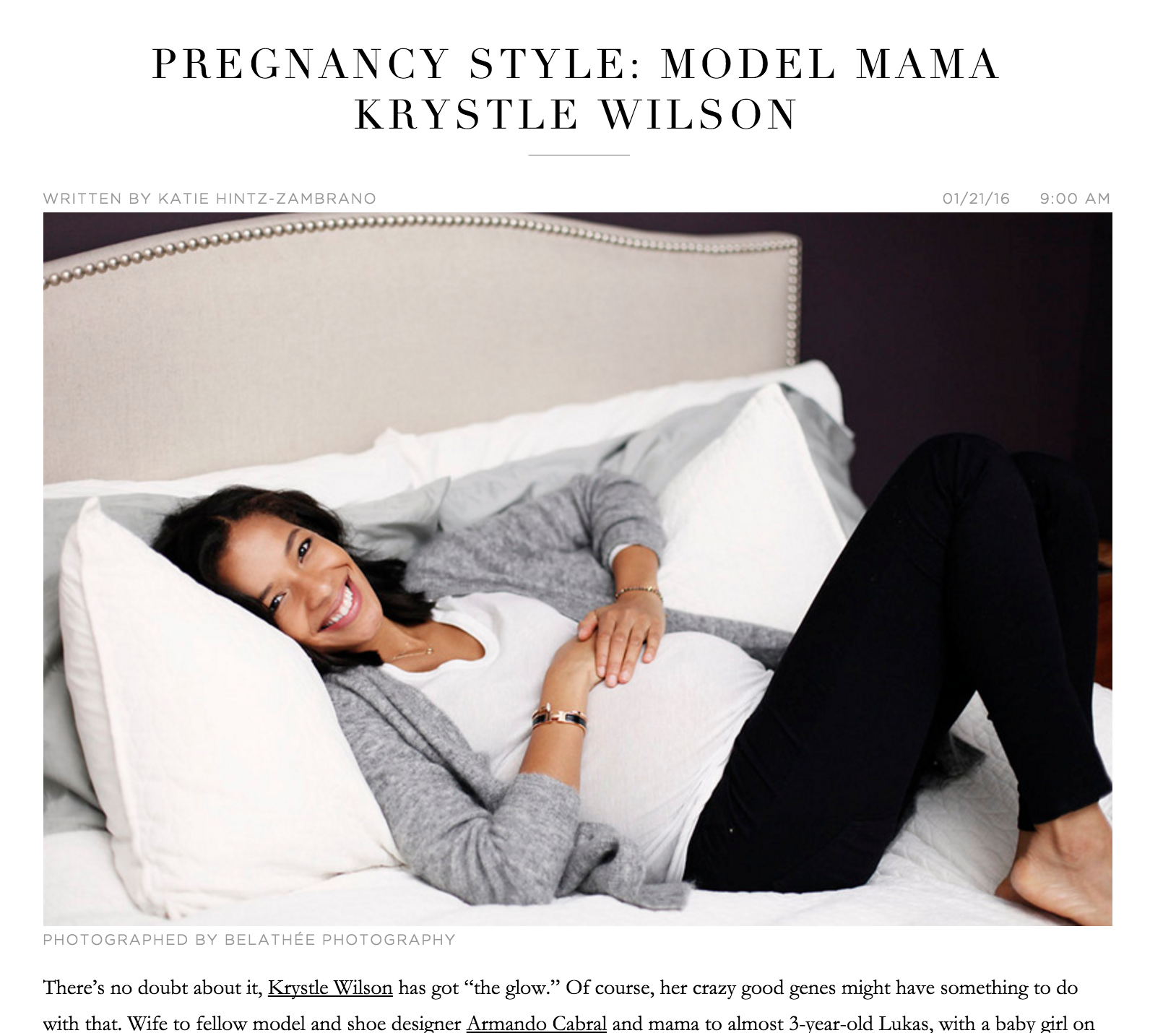 Pregnancy Style - Mother Mag Feature