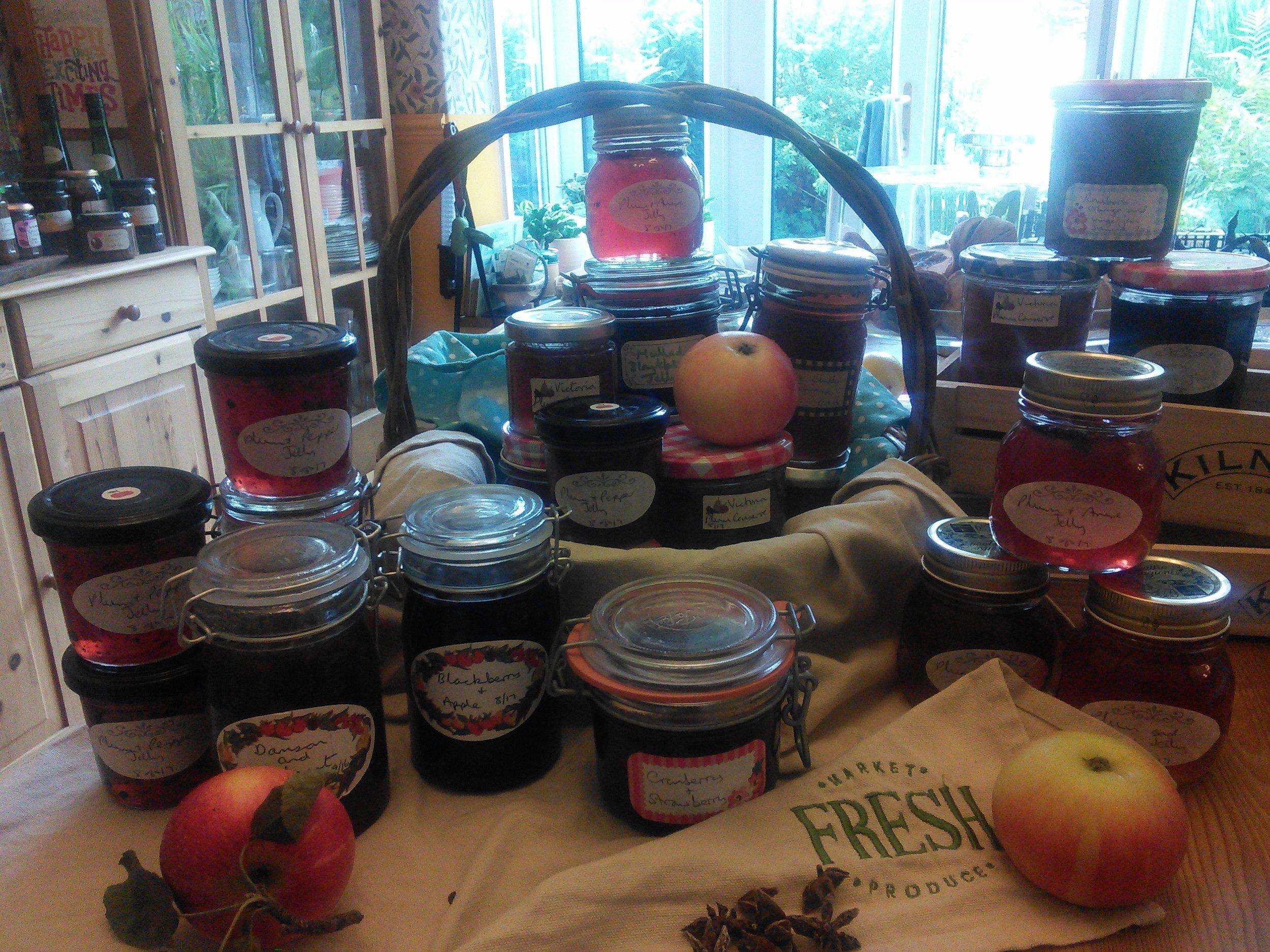 Jams, jellies and marmalades