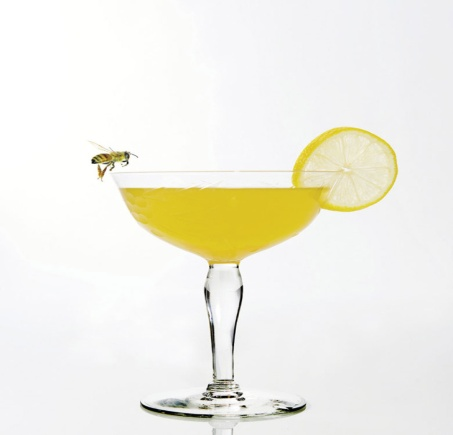 "BEE'S KNEES  2 oz. gin  .75 oz. lemon juice  .75 oz. honey simple syrup (equal parts honey/water)  The term ""bee's knees"" is undoubtedly associated with the 1920s, used to express excellence. However, the history of this drink is a little fuzzier. Yet it's believed that the addition of honey helped mask the small of alcohol, which was often the case with drinks served during prohibition, lest a speakeasy get busted by authorities. Some recipes call for honey, but I recommend making a honey simple syrup (equal parts honey and water) so that the honey properly combines. You'll add all of the ingredients to a cocktail shaker with ice and shake. Strain into a chilled cocktail glass. (Photo by  Tim Vidra  on Flickr)"