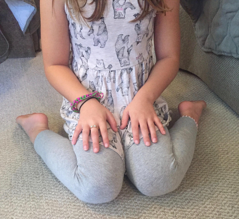 """W"" sitting posture"