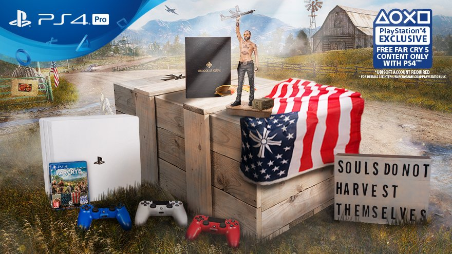 PLAYSTATION FARCRY BOX