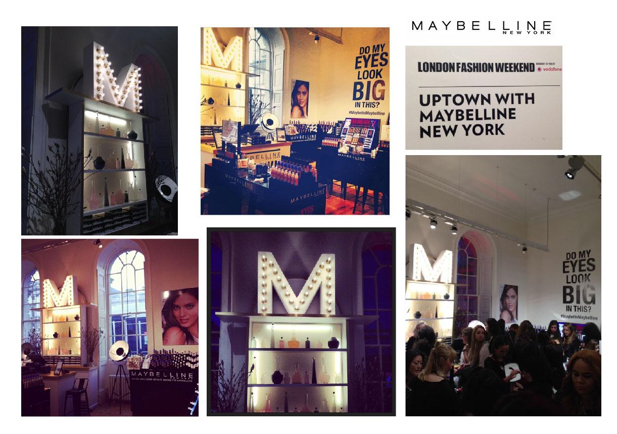 MAYBELLINE & LONDON FASHION WEEK